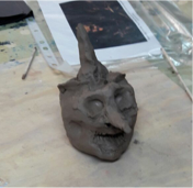 clay-head-witch