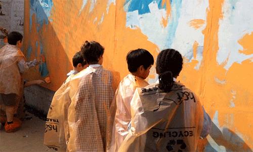 Large Murals for Schools